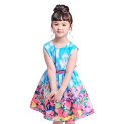 vestido baby flower