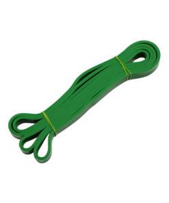 banda de estiramiento verde