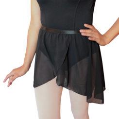 falda bajar negra