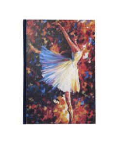 libreta imaginartes bailarina azul