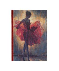 libreta imaginartes bailarina roja