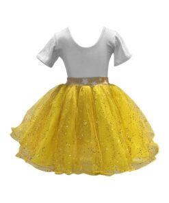 tutu balletizarte amarillo